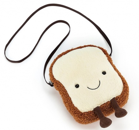 Jellycat Amuseable Toast Shoulder Bag